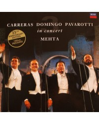 The Three Tenors - Carreras Domingo Pavarotti in Concert LP